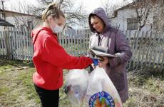 В России адресную помощь от волонтеров получили около 300 тысяч человек