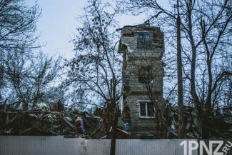 Как исчез дом-призрак на Ударной, 35 в Пензе — эксклюзивные кадры