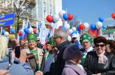 Первомай в Пензе. Как это было – фото демонстраций 1 мая 2016-2019 годов