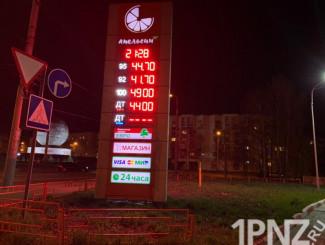 Срочная новость – в Пензе ожидается обвал цен на бензин в мае
