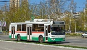 В Пензе временно изменили схему движения троллейбусов