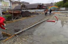 Пензенские власти рассказали о ходе работ на Фонтанной площади