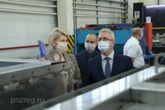 Пензенский губернатор оценил новые дезинфицирующие тоннели