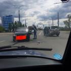 В пензенской Терновке разбились две легковушки