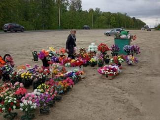 В Пензе пресекли несанкционированную торговлю возле кладбища