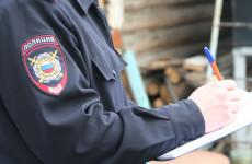 В селе под Пензой поймали пьяного молодого лихача на иномарке