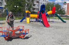 В Пензе продезинфицировали спортивные и детские площадки