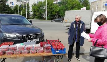 В Ленинском районе Пензы устроили облавы на уличных торговцев