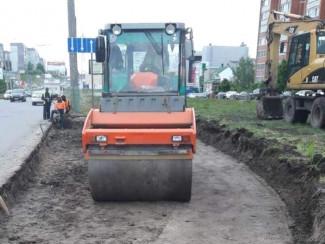 В Пензе продолжают ремонтировать дороги в рамках нацпроекта БКАД
