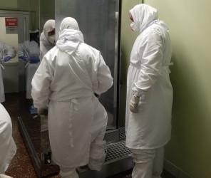 Пензенская областная больница получила дезинфицирующий тоннель