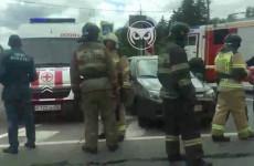 Серьезная авария в Пензе: на месте работают врачи и спасатели
