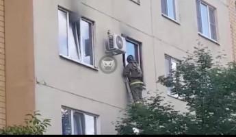 Пожар на улице Антонова в Пензе: эвакуированы 10 человек. ФОТО