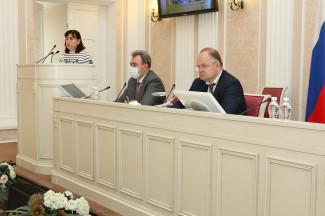 Пензенские парламентарии обсудили проект повестки дня очередной сессии ЗакСобра