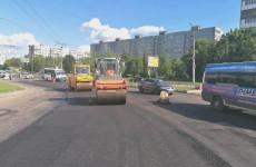 В Пензе продолжают ремонт дорог в рамках нацпроекта БКАД