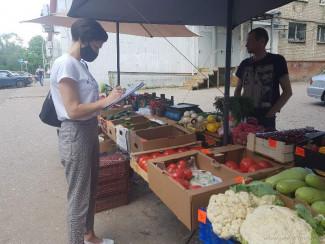 В одном из районов Пензы устроили облавы на уличных торговцев