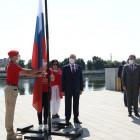 В День России на набережной Пензы подняли триколор