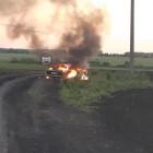 В Пензенской области взорвался автомобиль