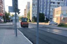 В Пензе продолжается ремонт дорог в рамках проекта БКАД
