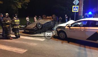 Появились новые фото с места аварии с «Яндекс.Такси» в Пензе