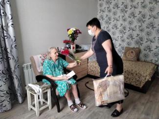 В Пензе поздравили с 95-летием ветерана Великой Отечественной войны