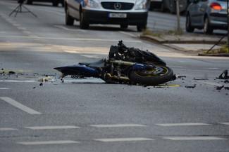 В Пензенской области перевернулся на мотоцикле 41-летний мужчина