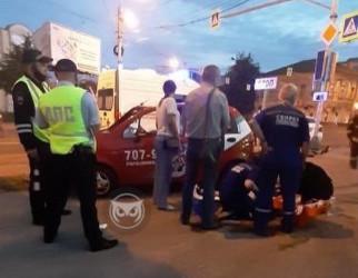 Момент страшной аварии в центре Пензы попал на видео