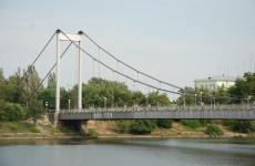 У подвесного моста в Пензе утонул молодой мужчина