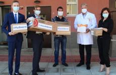 Пензенские медики получили еще одну партию средств защиты