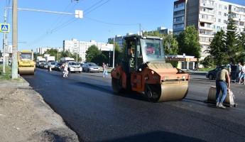 В Пензе продолжают ремонтировать дороги в рамках проекта «БКАД»