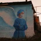 В Пензе уничтожили арт-объект с благодарностью врачам