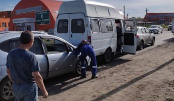 Тройное ДТП в Пензе окончилось утечкой газа