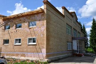 В Сосновоборске Пензенской области продолжается ремонт дома культуры