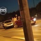На улице Измайлова в Пензе столкнулись сразу три машины