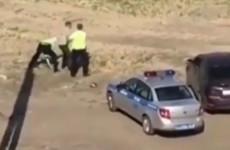 В Пензе скрутили пьяного водителя (видео)