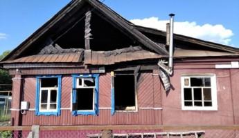 Серьезный пожар в Пензенской области: от огня пострадал мужчина