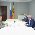 Пензенский губернатор встретился с депутатом Госдумы от партии ЛДПР