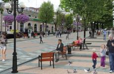 В Пензе благоустроят верхнюю часть улицы Московской