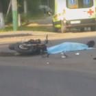Жители Пензы рассказали о жутком ДТП с участием мотоциклиста
