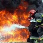 Ночью в Пензе произошел сильный пожар