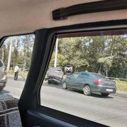В Пензе из-за жуткого ДТП собралась пробка