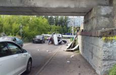 В Пензе у «моста дураков» произошло ДТП