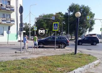 У монумента «Росток» в Пензе сбили пешехода