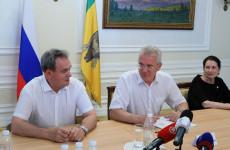 Валерий Лидин поблагодарил руководителей пензенских избиркомов
