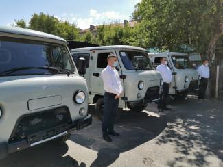 Ветеринарные станции Пензенской области получили новые машины