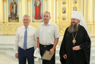 Владимир Вдонин удостоен грамоты Митрополита Пензенского и Нижнеломовского Серафима