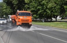 В Пензе усилили полив дорог