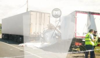 Страшная авария в Пензенской области: у грузовика разорвало кабину