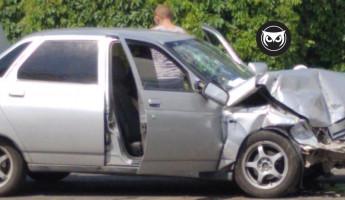 Жесткая авария в Пензе: на улице Рахманинова разбились две машины