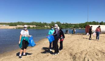 В Пензенской области вывезли 152 кубометра мусора с берегов рек