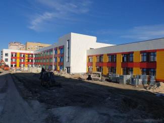 В Пензе завершается строительство школы в Эко-квартале